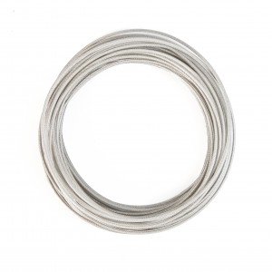 200210000  STAINLESS STEEL VINYL COATED CABLE PER FT.